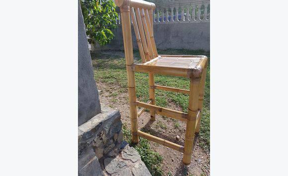 chaise en bambou v ritable 3 annonce meubles et d coration sint maarten. Black Bedroom Furniture Sets. Home Design Ideas
