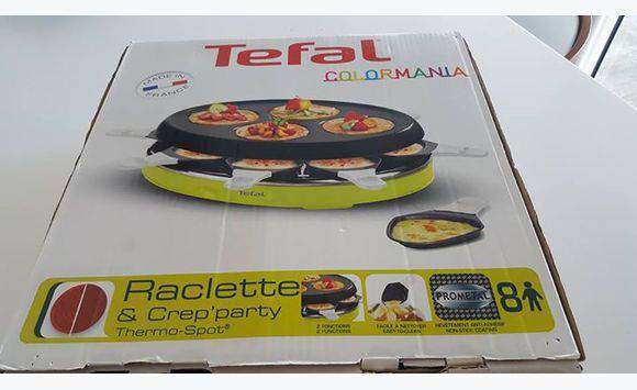 appareil raclette cr pes party tefal annonce lectrom nager saint martin. Black Bedroom Furniture Sets. Home Design Ideas