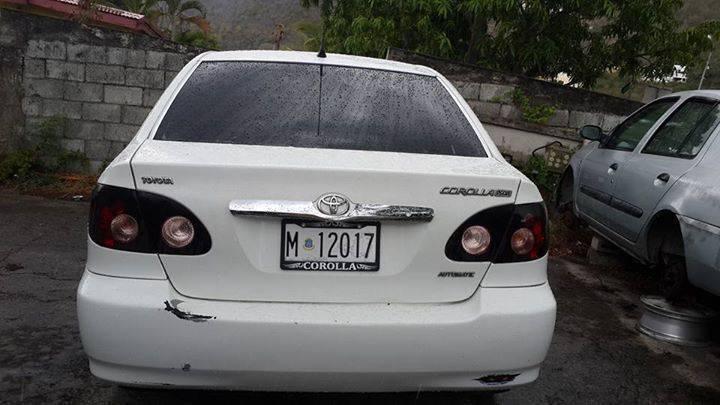Toyota corolla 07  Classified ad  Cars Philipsburg Sint Maarten