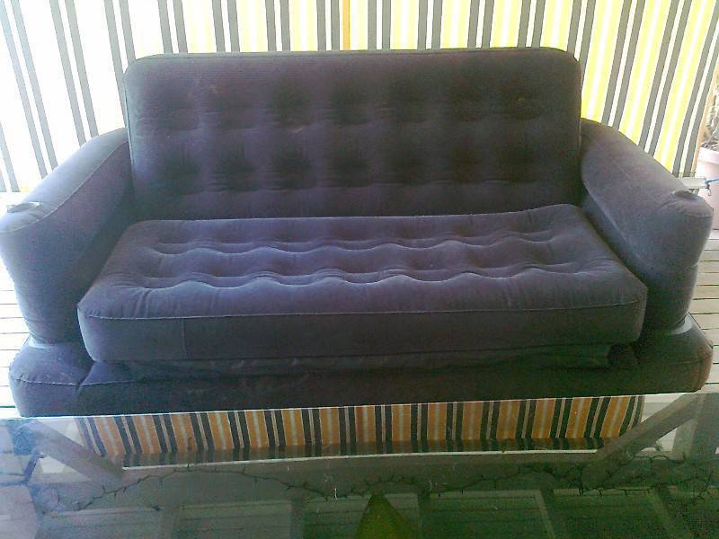 large inflatable sofa Classified ad Furniture and outdoor