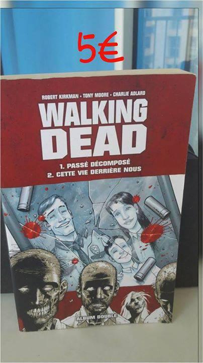 Livre walking dead comprenant 2 chapitres annonce dvd - Walking dead livre de poche ...