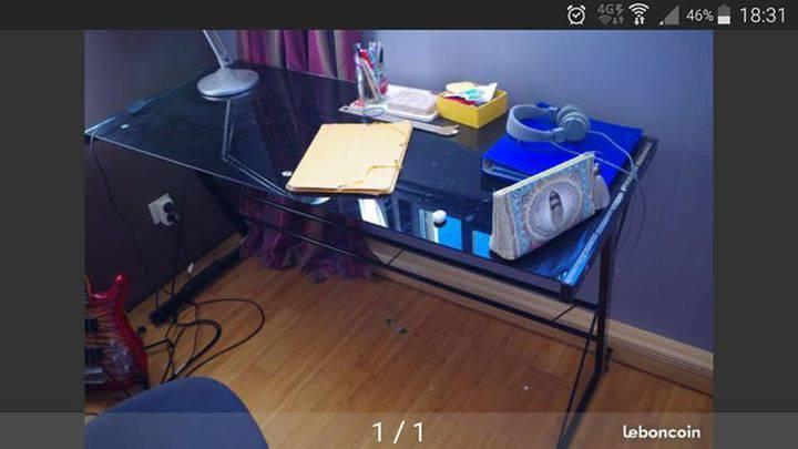 Bureau annonce meubles et d coration la r union for Bureau 140x60
