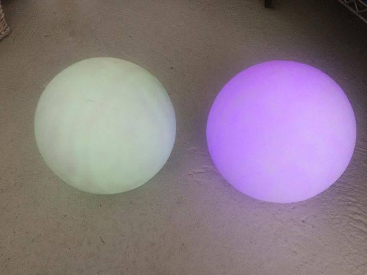 Boule lumineuse exterieur annonce luminaires anse des for Boule lumineuse exterieur