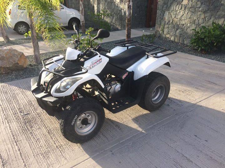 quad kymco mxu 150 annonce motos scooter quad saint jean saint barth lemy. Black Bedroom Furniture Sets. Home Design Ideas
