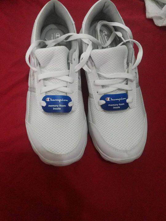 Champion memory foam insole shoes