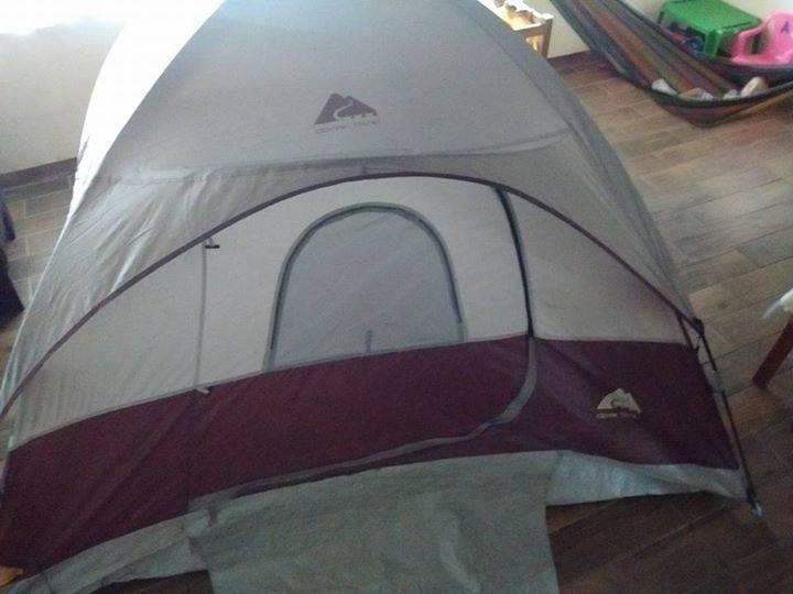 Ozark trail tent  6 feet x 8 feet big