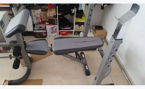 Banc Musculation Weider Pro Sports Hobbies La Réunion Cyphoma
