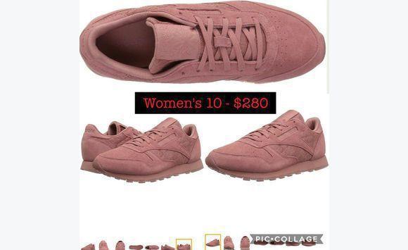 John Size 10 Classified Pink Saint Ad Classic Reebok Shoes SWHSn81z