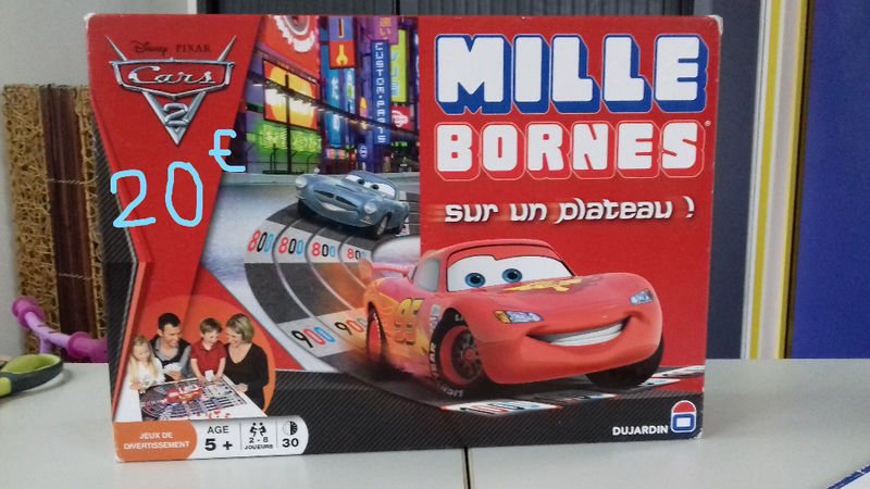 mille bornes cars annonce jeux jouets saint martin. Black Bedroom Furniture Sets. Home Design Ideas
