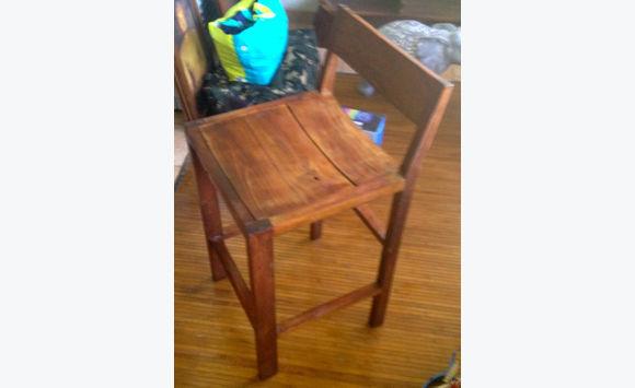 teak bar stool classified ad furniture and decoration marigot