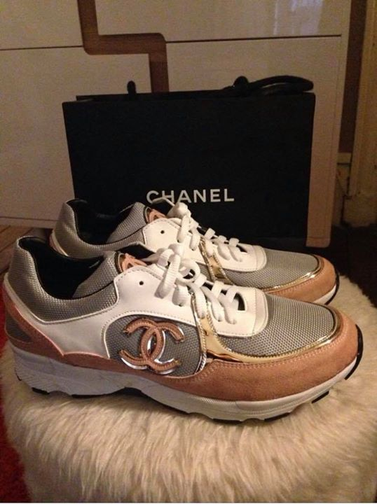 Basket Chanel - Chaussures Martinique • Cyphoma e92ed21ed96