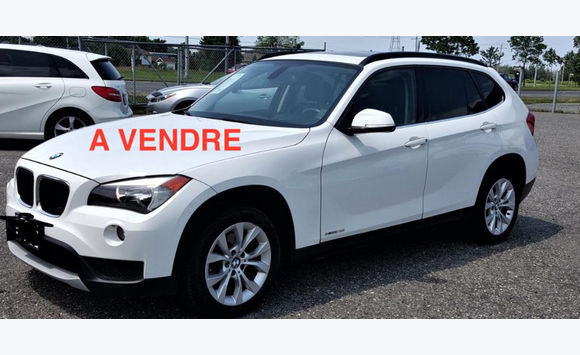 bmw x1 sdrive luxe blanc