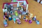 Playmobil clothing store