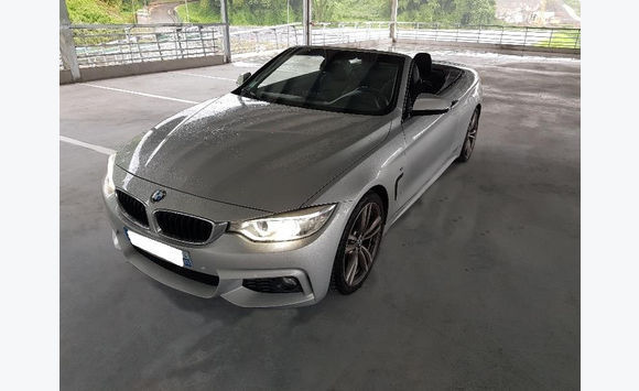 bmw serie 4 (f33) cabriolet 420d 184 m sport