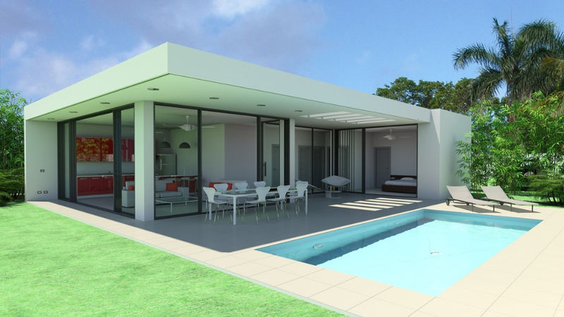Villa Contemporaine Face A Un Espace Golf Prive 395 000 Ventes