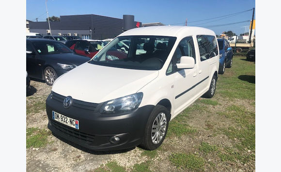 vw caddy 2014 7 places 1. 6tdi 102cv 1ere main