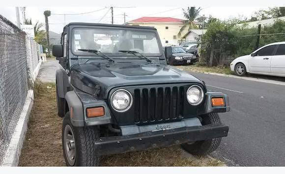 Jeep 2 5 Engine >> Jeep Wrangler Tj Model 2 5 L Parts Or Restore