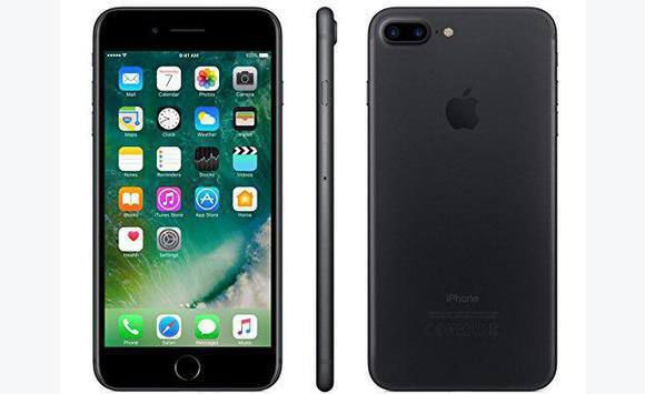 iphone 7plus mat black 32gb
