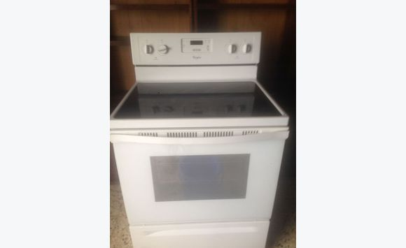 Whirlpool electric stove 220v