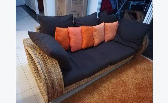 ensemble canap de jardin exotique annonce meubles et. Black Bedroom Furniture Sets. Home Design Ideas