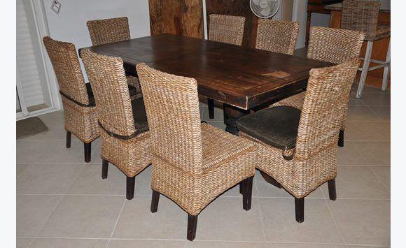 Table De Salle A Manger Avec 8 Chaises Meubles Et Decoration Sint