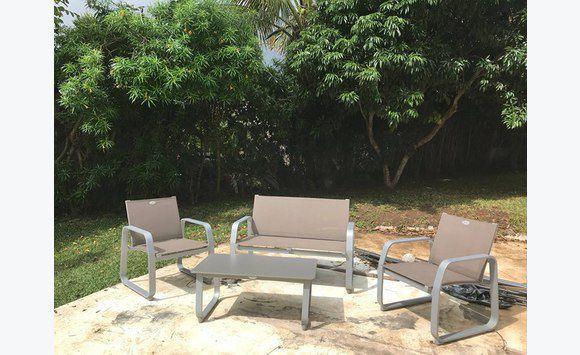 salon de jardin + luminaire - Annonce - Mobilier et équipement d ...