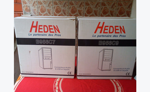 lot x 2 boitiers pc heden - jcg97