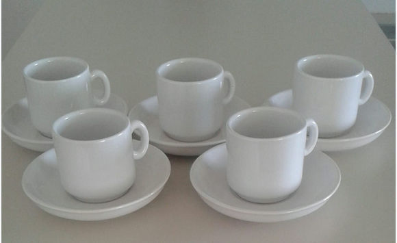 Lot of 5 coffee cups & Lot of 5 coffee cups - Kitchen - Tableware Saint Martin