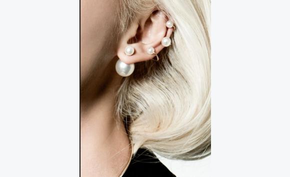 boucles d'oreille dior