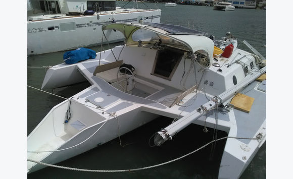 Trimaran Norman cross 37