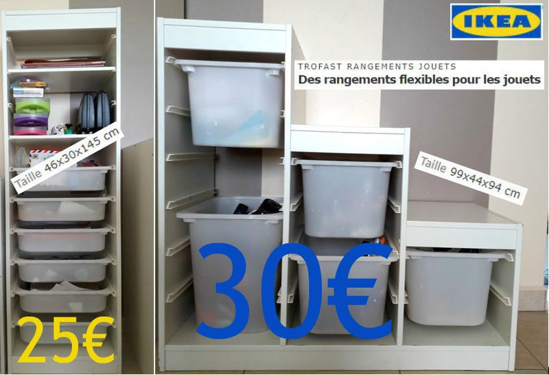 Rangements Ikea Trofast Occasion Meubles Et Decoration Saint Martin Cyphoma