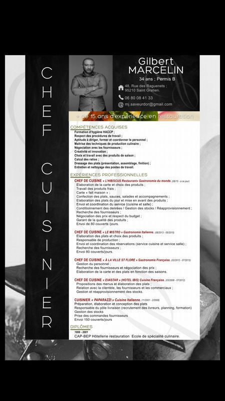Cuisinier Chef De Cuisine 3 000 Demande Emploi Guadeloupe