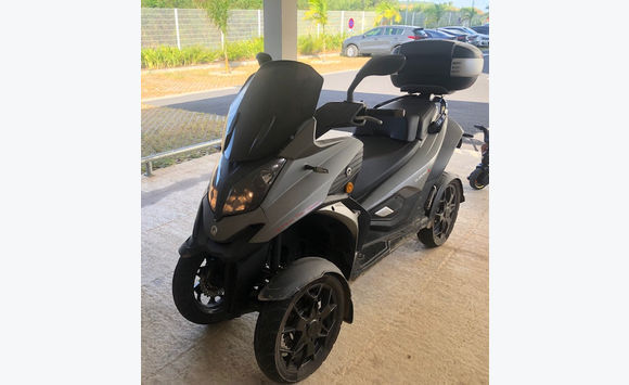 rare super quadro 4d 350cm3 scooter 4 roues