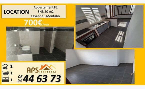 Appartement 2 pieces 45m2 Montabo...