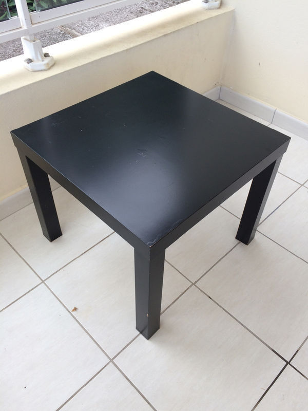 Small Table Black Ikea Furniture And Decoration Saint Martin