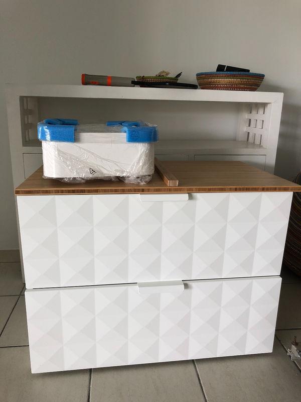 Meuble Sdb Ikea Neuf Et Monté Avec Vasque Meubles Et Décoration