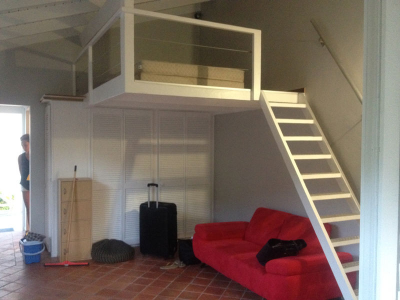 Rent furnished mezzanine studio
