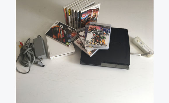Consoles PlayStation 3 et Wii