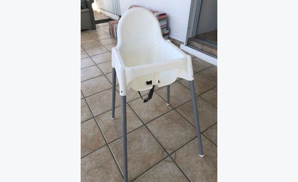 Chaise Haute Ikea Avec Tablette