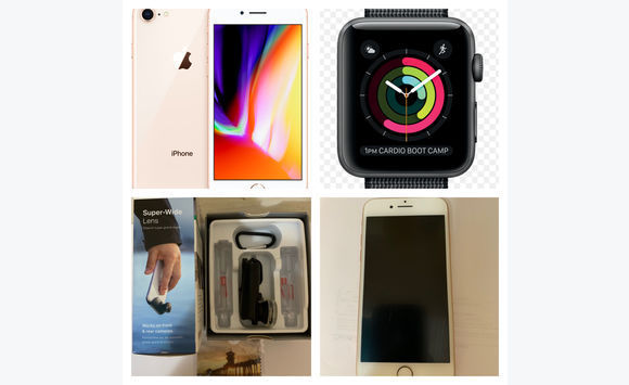 release date b9989 77856 iPhone 8 gold 64 gb + Apple Watch nike + olloclip - Telephony Saint ...