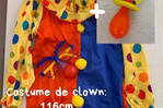 "Déguisement ""Clown"""
