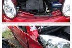 Citroen C1 accidenté