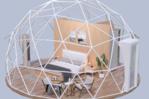 Geodesic dome 30 sqm