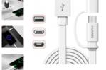 Original Huawei micro-USB/USB C cable